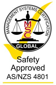 Safety Approved AS Logo